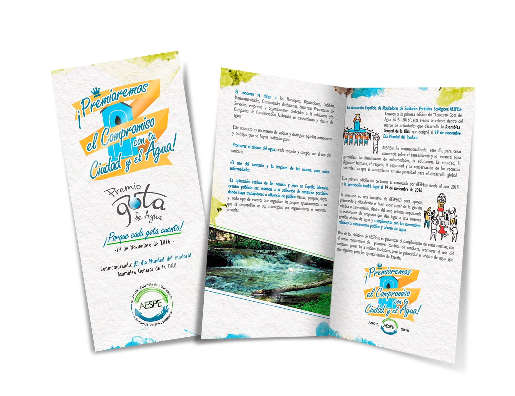 Tryptic Promotion Design