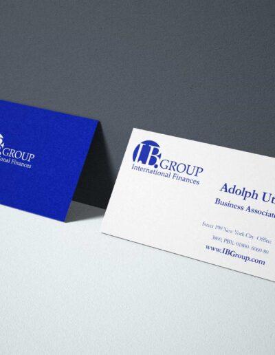 Stationary Finances Business Card Finances Company