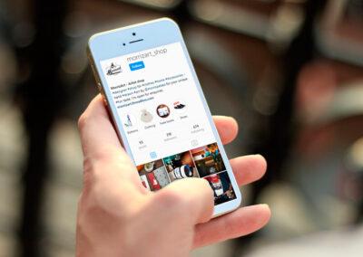 See Instagram profile design