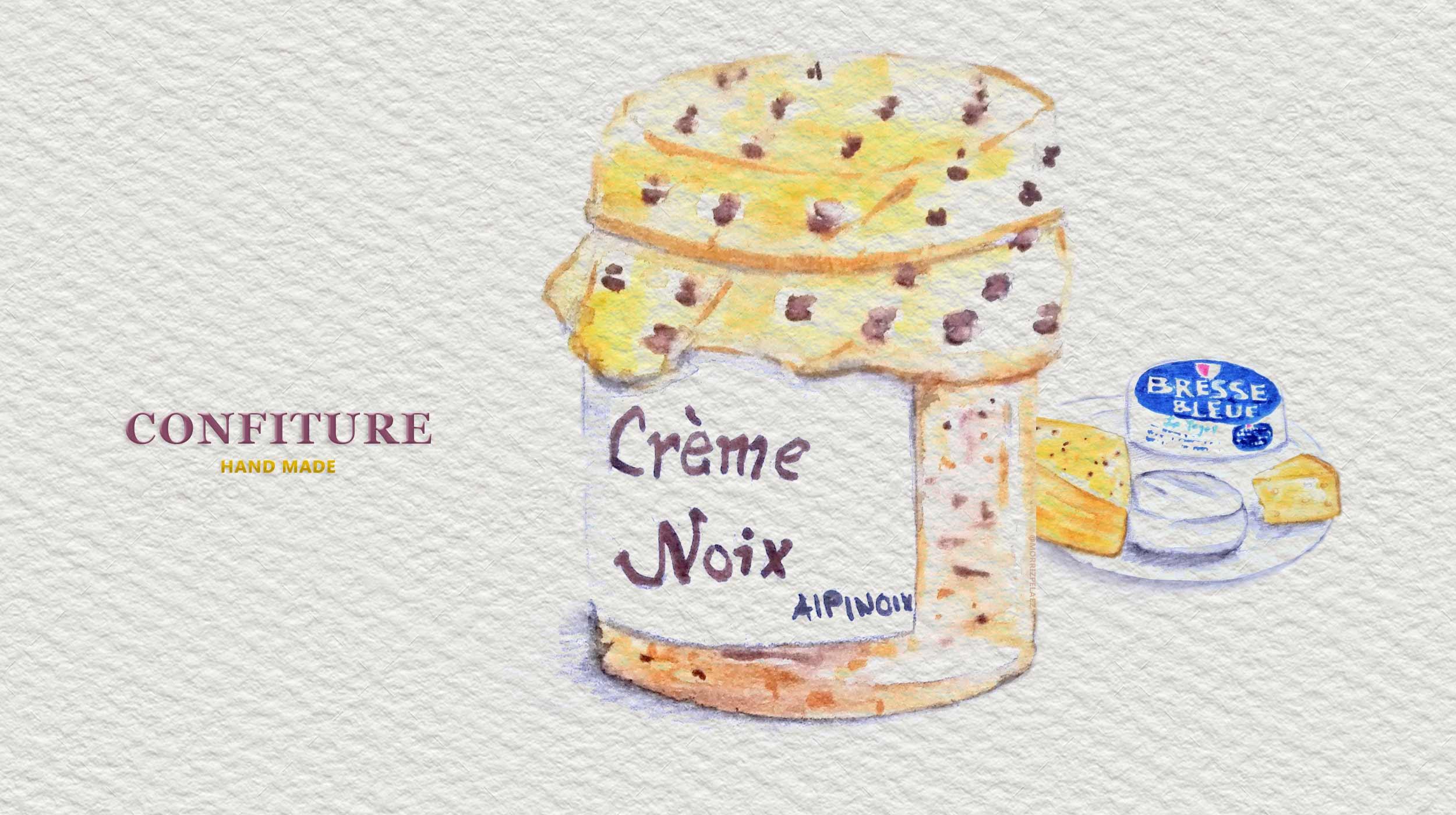 Illustration Marmalade - traditional Jam
