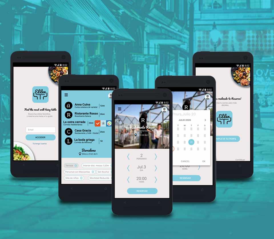 Reservations App design